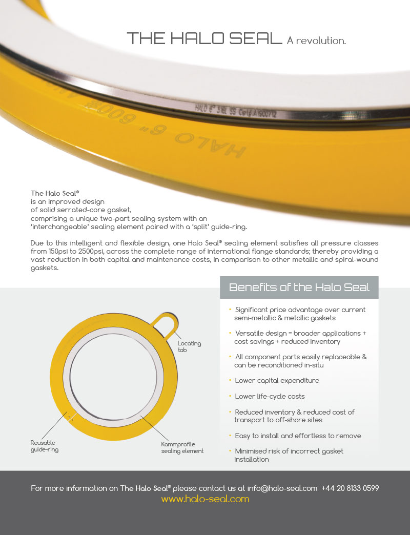 Halo Seal - Oil & Gas Journal Advert